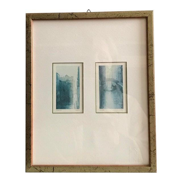 framed venice prints chairish