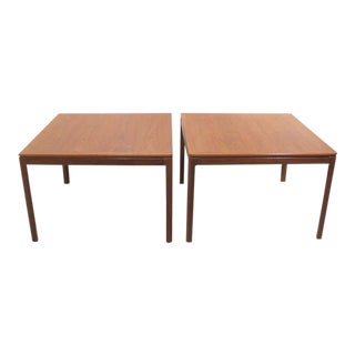 1960s Mid-Century Modern Dux Teak End Tables - a Pair For Sale