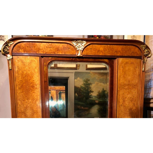 From New York City Estate, we have a pleasure to offer you this beautiful large 19th century French Armoire in style of...
