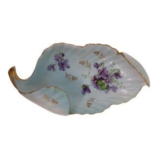 Antique Porcelain Trinket Dish For Sale