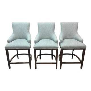 Fairfield Chair Sawyer Counter Stools- Set of . 3 For Sale