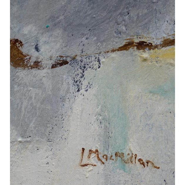 "2010s ""Rural Route"" Laurie MacMillan Abstract Painting For Sale - Image 5 of 6"