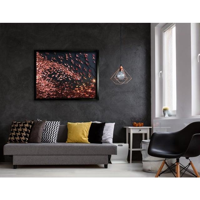 Flamboyance a three-dimensional framed artwork by Daniel Byrne - Image 2 of 5