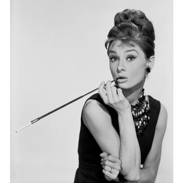 "1960s Audrey Hepburn in ""Breakfast at Tiffany's"" 1961 For Sale - Image 5 of 5"
