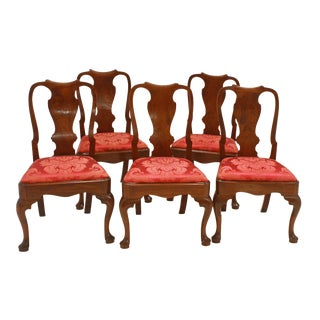 George II Side Chairs / group of five (5) For Sale