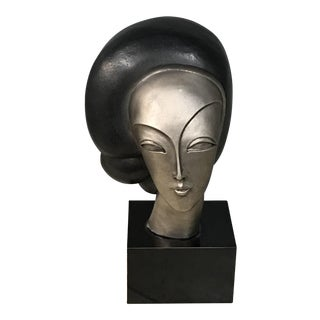 Austin Woman's Head Statue For Sale