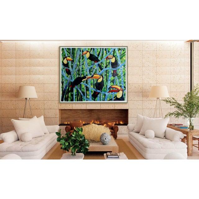 Ramphastos Fantasia Acrylic Painting - Image 10 of 10