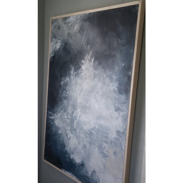 """""""Layered Clouds"""" Framed Abstract Art by Kris Gould - Image 6 of 6"""