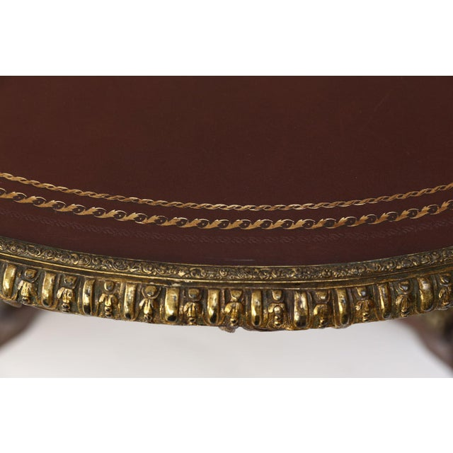 Hollywood Regency English Regency Center Table For Sale - Image 3 of 13