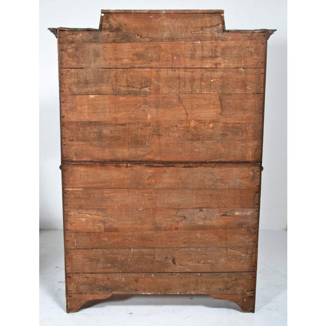 19th Century Walnut Italian Armoire For Sale - Image 4 of 9