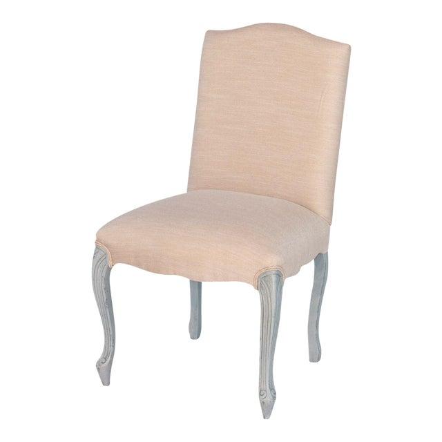 Sarreid LTD 'Vendome' Cream & Blue Chair - Image 1 of 4