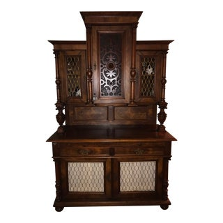 18th Century Jacobean Wine Server/ Cabinet For Sale