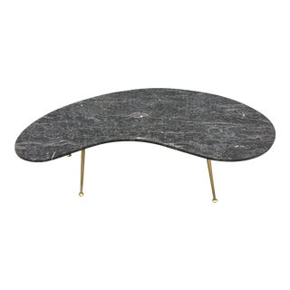 Marble Freeform Cocktail Table