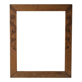 East Lake Picture Frame 1880s For Sale