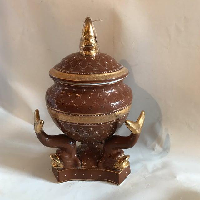 Limoges Style Porcelain Lidded Tureen - Image 2 of 6