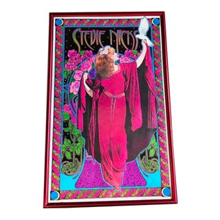 Numbered & Signed Bob Masse Stevie Nicks Poster For Sale