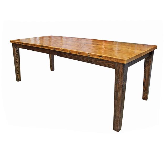 Reclaimed Douglas Fir Farm Table - Image 2 of 4