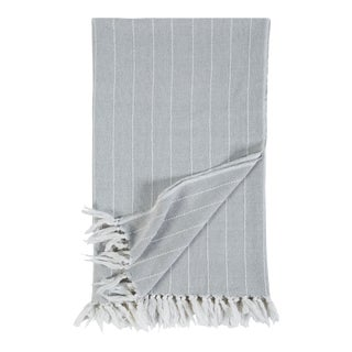 Henley Throw in Sky For Sale