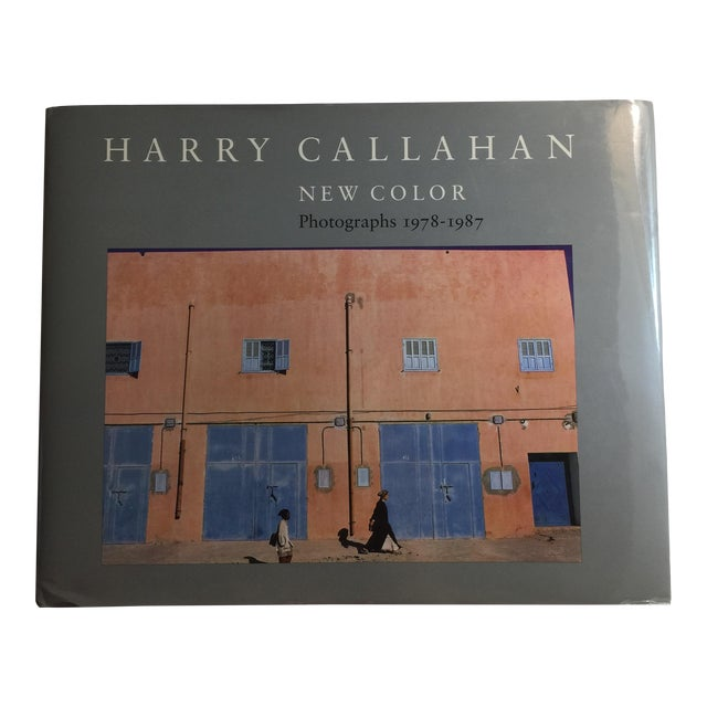 1988 Harry Callahan New Color Book For Sale