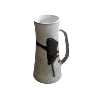 1970s Andersen Design Stein With Abstract Pattern by Weston Neil Andersen V479 For Sale
