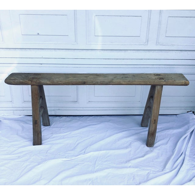 Brilliant Antique Chinese Shandong Bench Gmtry Best Dining Table And Chair Ideas Images Gmtryco