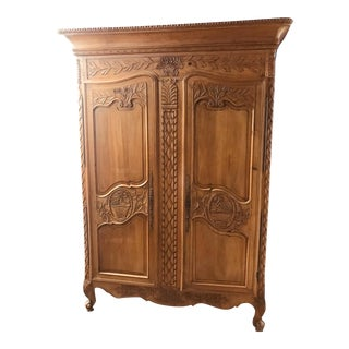 Vintage Country French Armoire