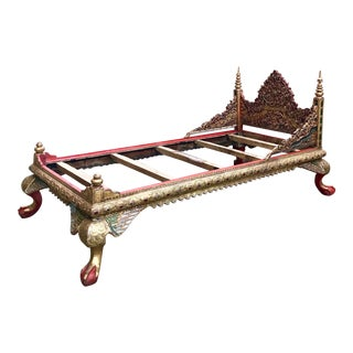 Antique Royal Thai Daybed For Sale