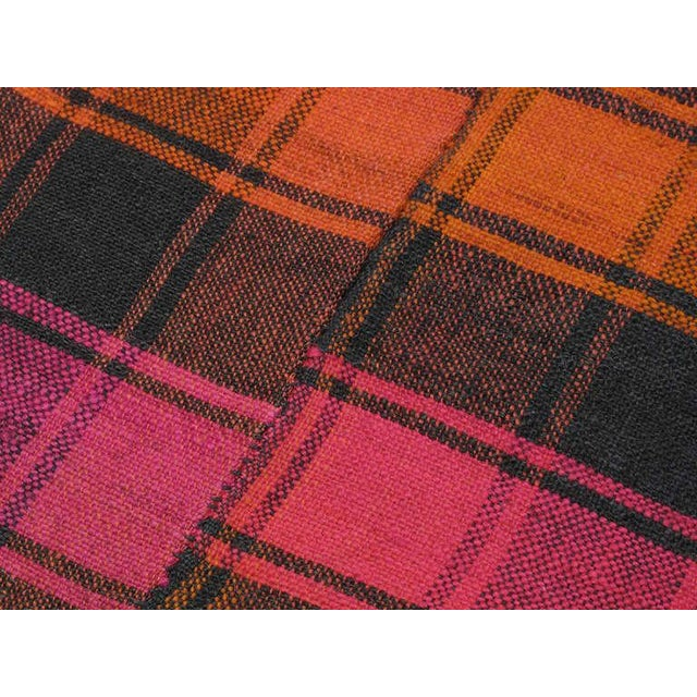 Plaid Cover For Sale In New York - Image 6 of 6