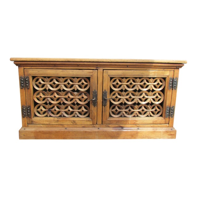 Spanish Carved Buffet - Image 1 of 8