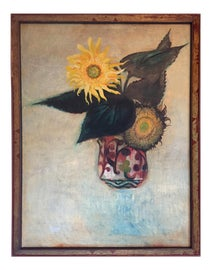 Image of Newly Made Sunflower Paintings