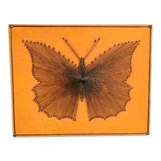 Vintage Framed Butterfly Wall Art
