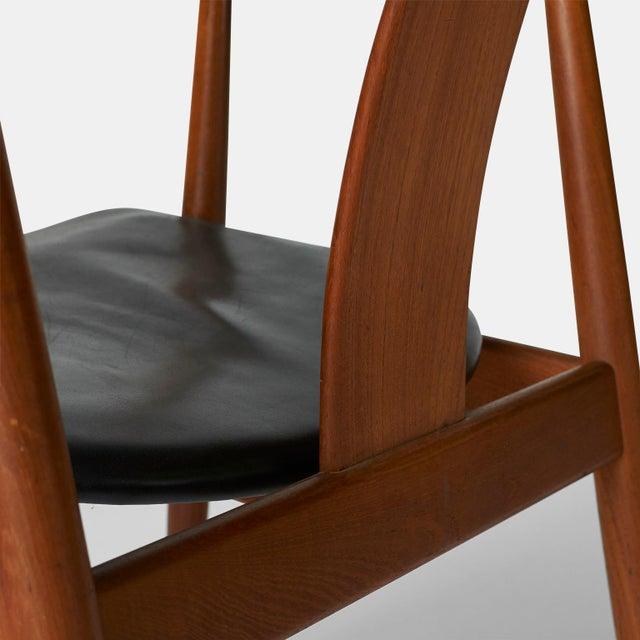Animal Skin Tove & Edvard Kindt-Larsen Guest Chair For Sale - Image 7 of 8