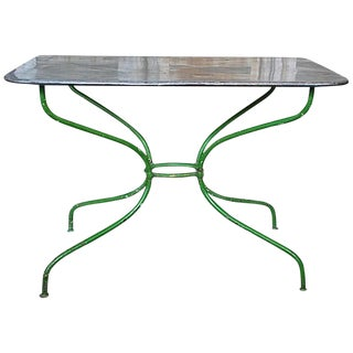 Early 20th Century French Garden Table For Sale