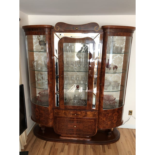 Imported Italian China Cabinet For Sale - Image 4 of 7
