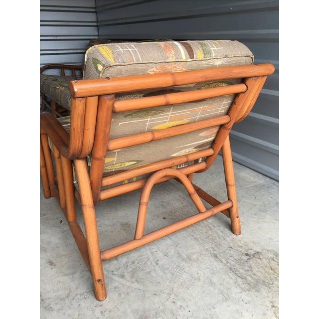 1950s Ritts Tropitan Rattan Chair - Image 5 of 5