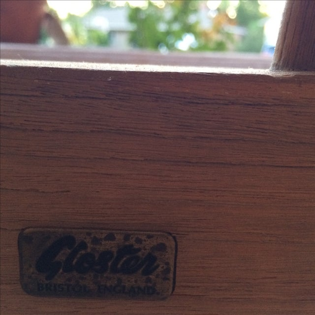 Gloster 8' Teak Bench For Sale - Image 4 of 8