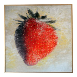 """2008 """"Strawberry"""" Framed Photograph For Sale"""