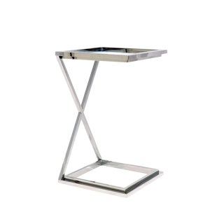 Contemporary Pasargad Home Luxe Collection Side Table For Sale