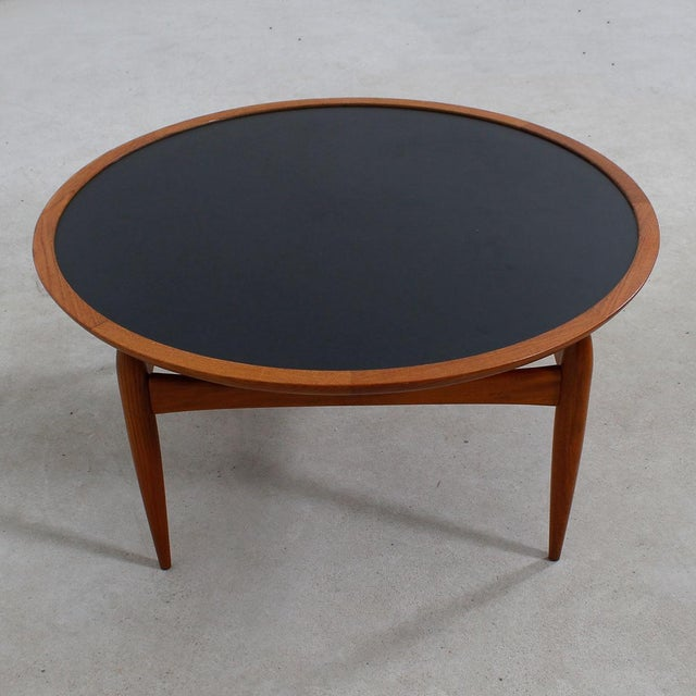 Danish Modern Teak Finn Juhl Style Reversible Coffee Table - Image 5 of 10