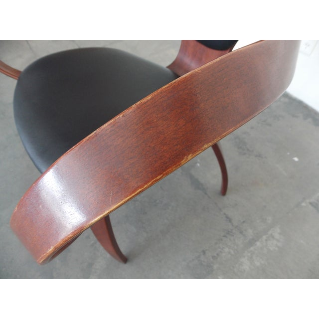 Bentwood Pretzel Arm Chairs - A Pair For Sale - Image 7 of 10