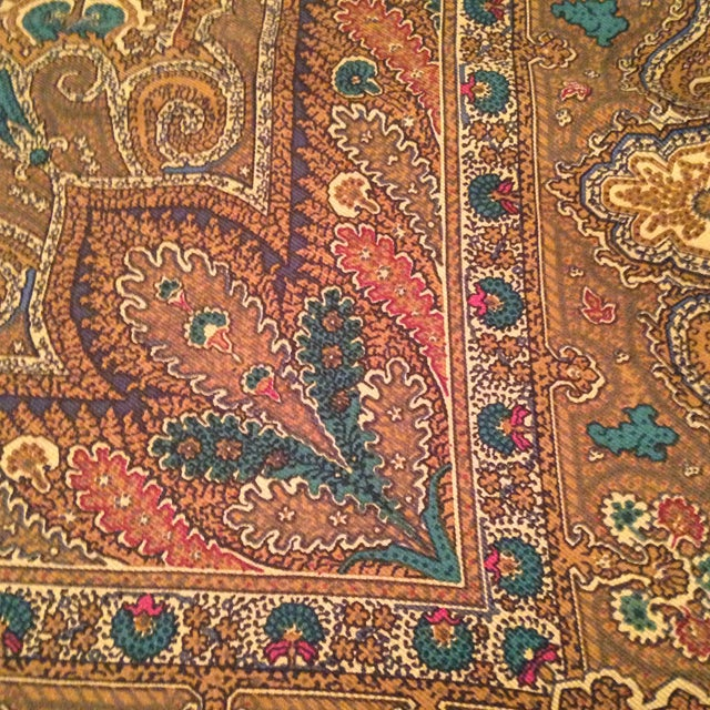 Ralph Lauren Vintage Silk Ralph Lauren Scarf For Sale - Image 4 of 8