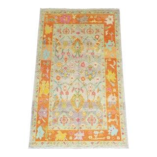 Contemporary Turkish Oushak Anatolian Rug