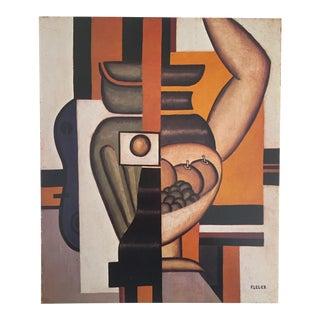 "Leger Original Vintage 1976 Lithograph Print "" Still Life With an Arm "" 1921"