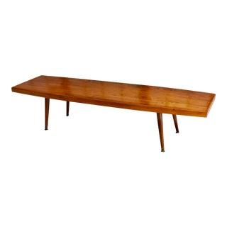 Mid-Century Modern Retro Surfboard Coffee Table