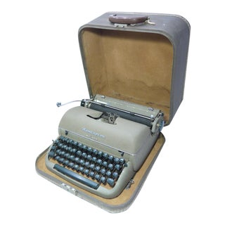 Remington Quiet-Riter Vintage Typewriter and Case