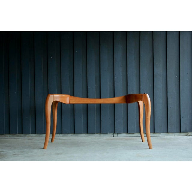 Danish Modern Anthropomorphic Carved Hardwood Dining Table For Sale - Image 9 of 13