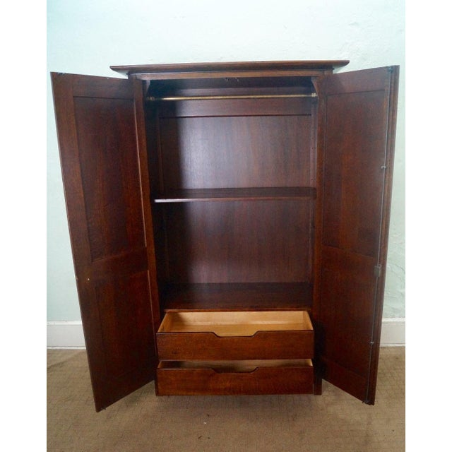 Stickley Arts & Crafts Armoire - Image 3 of 3