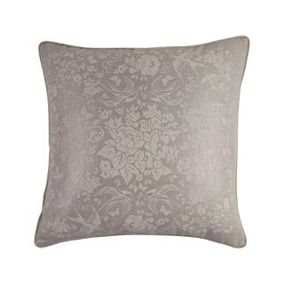 Metallic Linen Swallow Garden Pillow