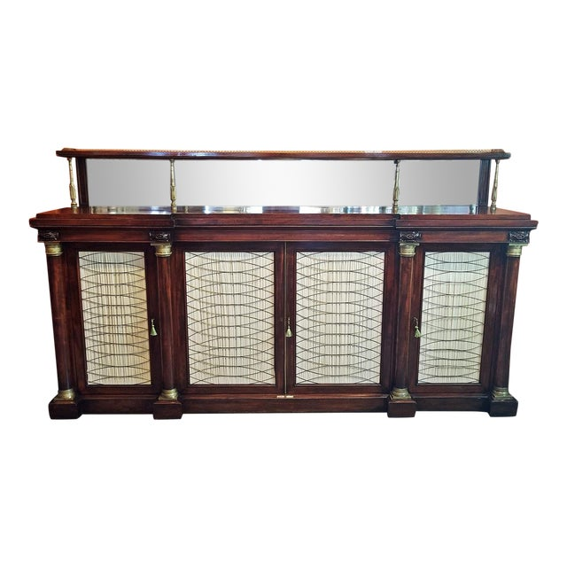 Early 19c English Chiffonier in the Manner of Gillows For Sale