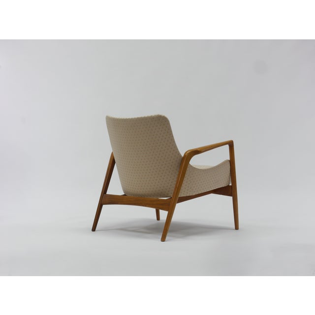 Mid 20th Century Pair of Lounge Chairs by Ib Kofod Larsen For Sale - Image 5 of 11